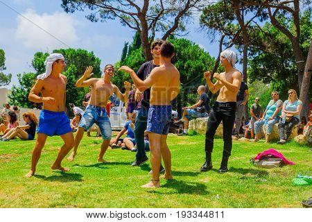 Haifa 11Th Pride Parade, 2017