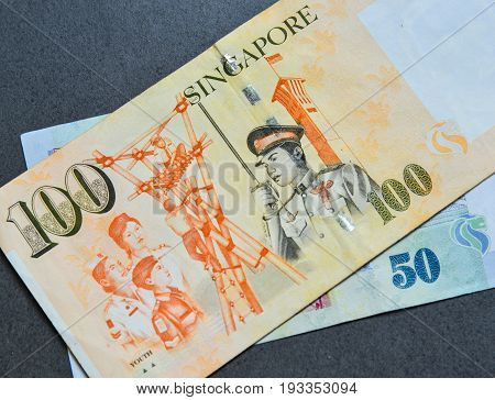 Singapore Banknote Dollar (sgd)