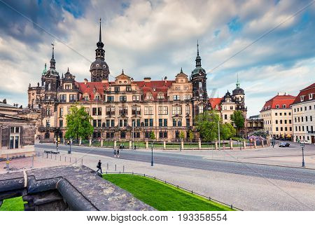 Residence Of Electors And Kings Of Saxony In Dresden.