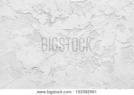 White panel plate grungy texture gypsum background