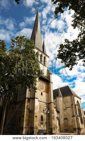 The Church Saint-Remy is a monument in the municipality of Troyes , Aube region, France.