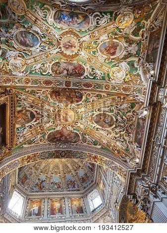 Duomo Di Bergamo In Italy