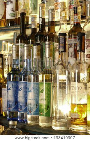 Bottle Of Absinth
