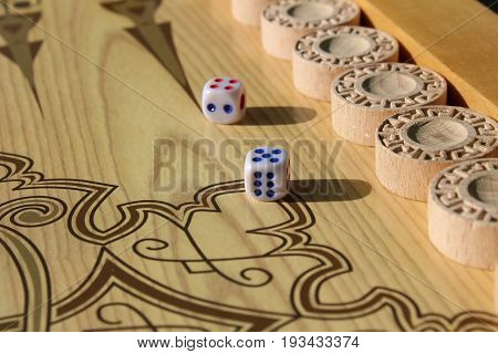 Backgammon is another ancient game, which is great develops logical thinking skills.