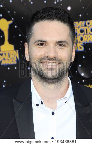BURBANK - JUN 28: Dan Trachtenberg at the 43rd Annual Saturn Awards at The Castaway on June 28, 2017 in Burbank, California