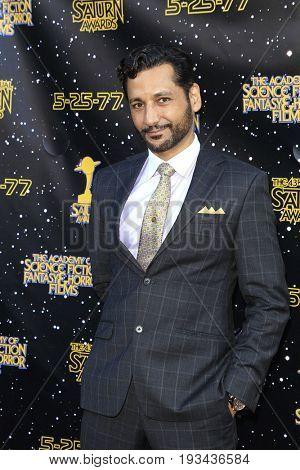 BURBANK - JUN 28: Cas Anvar at the 43rd Annual Saturn Awards at The Castaway on June 28, 2017 in Burbank, California