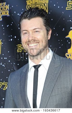 BURBANK - JUN 28: Dan Feuerriegel at the 43rd Annual Saturn Awards at The Castaway on June 28, 2017 in Burbank, California