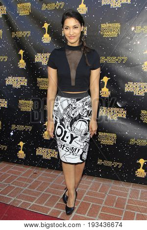 BURBANK - JUN 28: Janina Gavankar at the 43rd Annual Saturn Awards at The Castaway on June 28, 2017 in Burbank, California