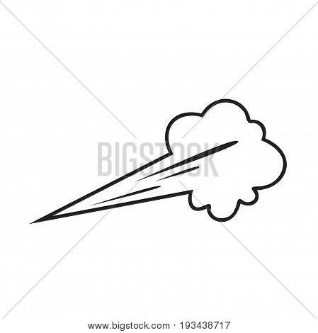 Blowing vector, Blowing stock vector, stock vector