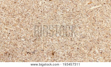 Pressed beige chipboard, plywood texture background for interior, exterior or industrial construction concept design.