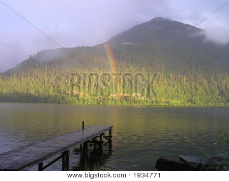 Crescent Lake Rainbow