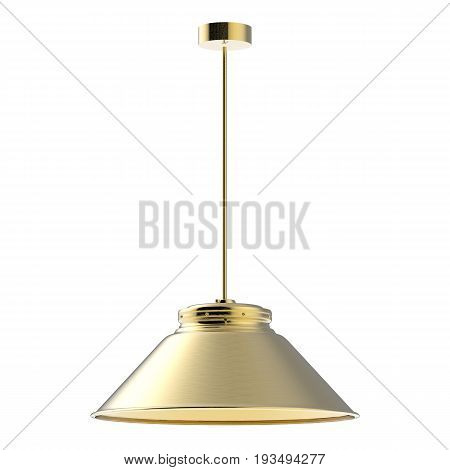 Pendant Lamp Isolated On White