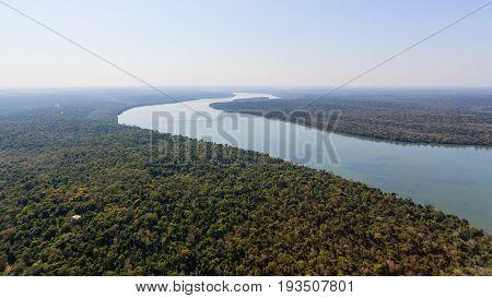 Iguazu Falls Helicopter View, Argentina