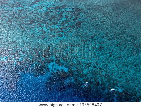 Aerial View Of The Great Barrier Reef - Agincourt Reefs, Australia
