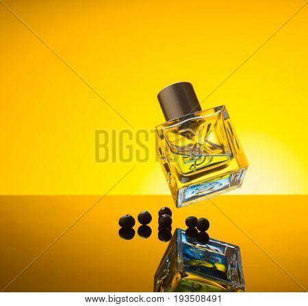 perfume, fire, spark cosmetic aroma fashion fresh drops