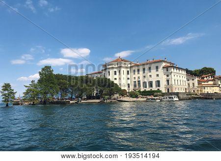 Isola Bella island Italy Borromeo Palace landmark architecture