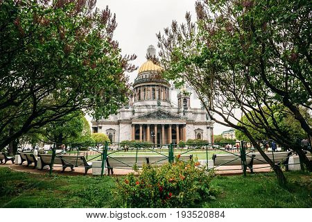 St. Isaac's Cathedral is the largest Orthodox church in St. Petersburg. Located on St. Isaac's Square, Russia