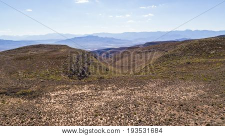 Aerial Views Of The Valleys Around Robertson In The Breede Valley In The Western Cape Of South Afric