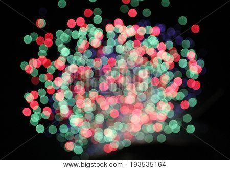 Many colorful spots as a abstract  background