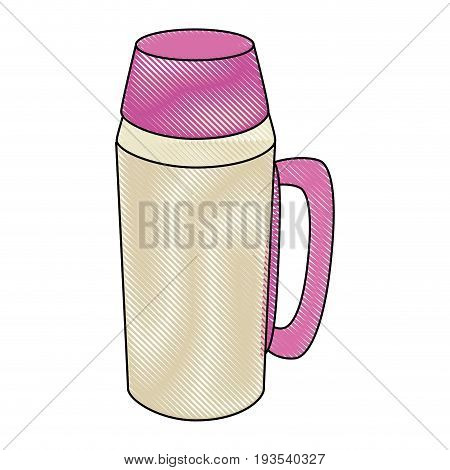 coffee term icon over white background colorful design vector illustration