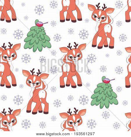 Funny Deer Pattern.eps