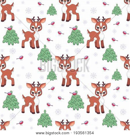 Little Deer Pattern.eps
