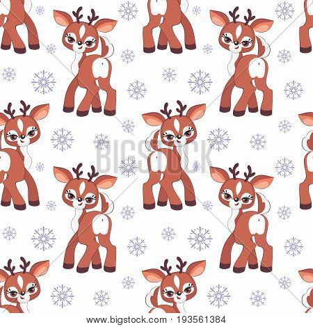 Little Deer Seamless Pattern.eps
