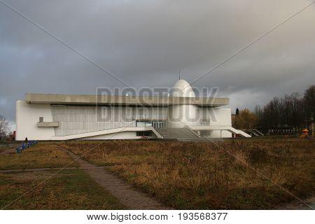 Museum of cosmonautics with planetarium in Kaluga
