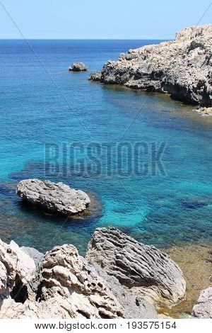 A beautiful mediterranean beach in Mallorca, Spain