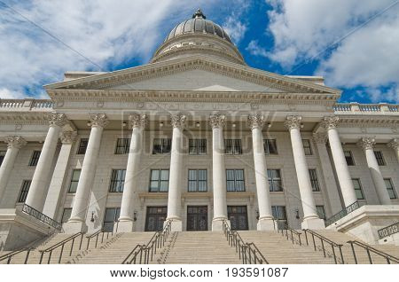 Utah State Capitol is the house of government for the U.S. state of Utah.Salt Lake City, USA