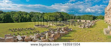 Ruins Of The Ancient Mayan City, Kabah. Mexico