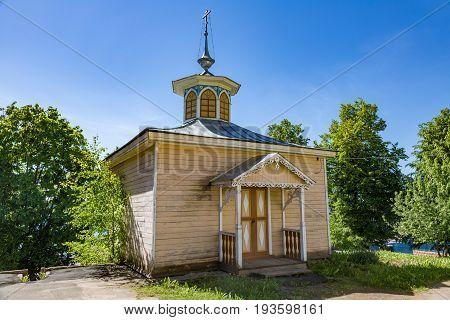 Chapel Of Florus And Laurus, Myshkin, Russia