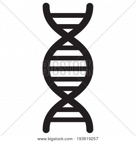 DNA code icon chain chromosome computer icon