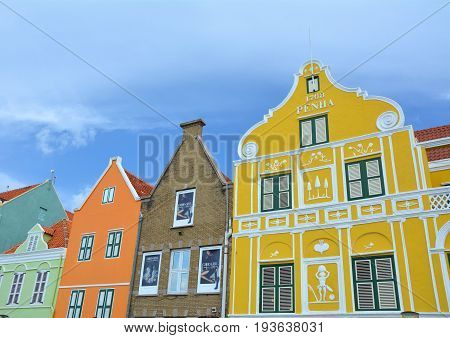 Colorful Houses In Willemstad