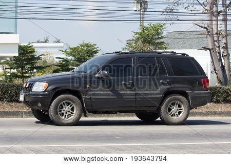 Private Jeep 4X4 Cherokee Car.