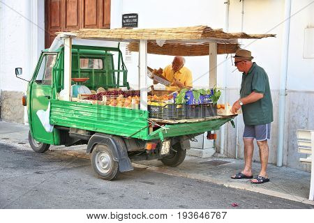 Fruit Truck, Italy