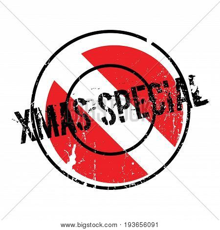 Xmas Special rubber stamp. Grunge design with dust scratches. Effects can be easily removed for a clean, crisp look. Color is easily changed.