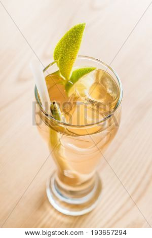 lemongrass lime fruit fizz