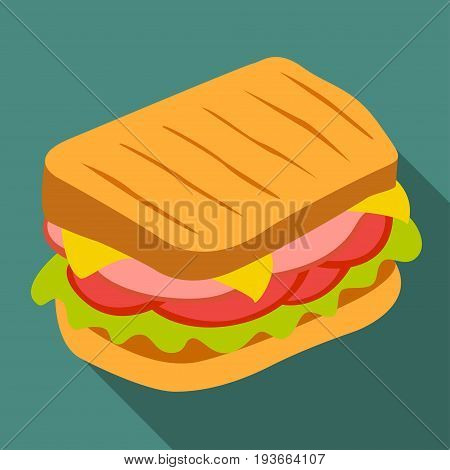 Sandwich vector icon. Design elements for your design.