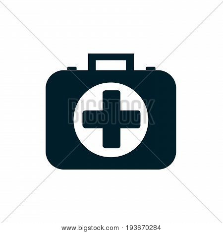 first aid kit icon. Vector Illustration eps10