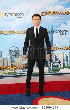 LOS ANGELES - JUN 28:  Tom Holland at the