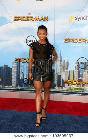 LOS ANGELES - JUN 28:  Logan Browning at the
