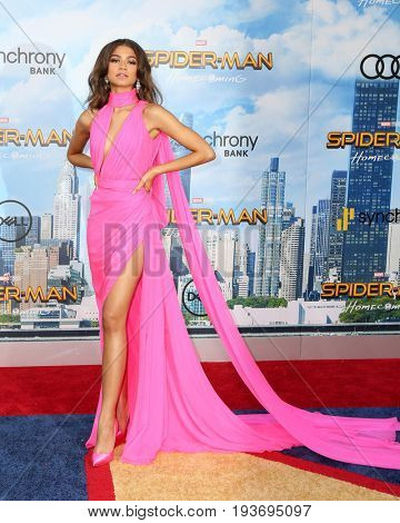 LOS ANGELES - JUN 28:  Zendaya Coleman at the