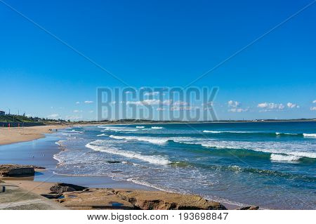 Beautiful Ocean View Landscape On Sunny Day