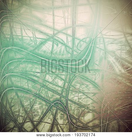Retro design on grunge background or aged faded texture. With different color patterns: yellow (beige); brown; gray; green; cyan; white