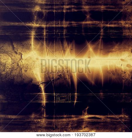 Traditional grunge background, scratched texture with vintage style design and different color patterns: yellow (beige); brown; gray; purple (violet); black; pink