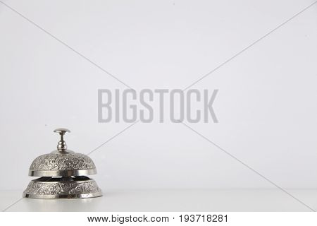 service bell on the white background