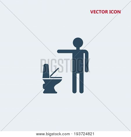man littering in toilet Icon, man littering in toilet Icon Eps10, man littering in toilet Icon Vector, man littering in toilet Icon Eps, man littering in toilet Icon Jpg