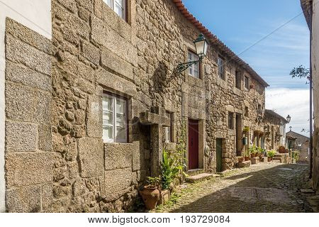 MONSANTO,PORTUGAL - MAY 16,2017 - In the streets of Monsanto village in Portugal. Monsanto has become popularly known as