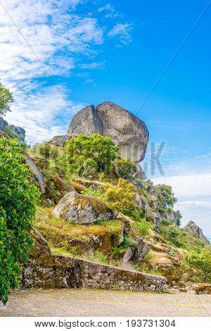 Big stone in Monsanto village - Portugal